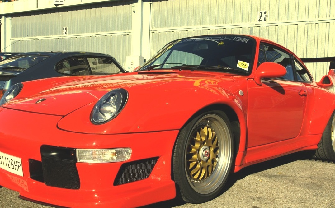 Porsche 993 gt2 evo