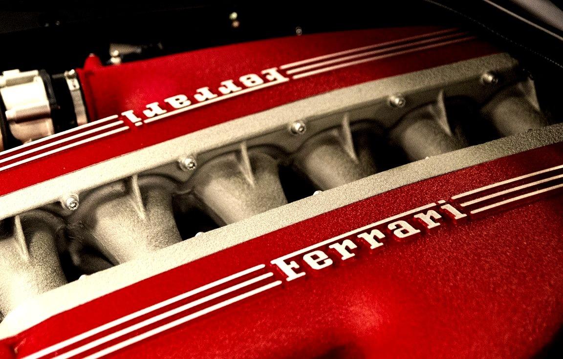 Ferrari F12berlinetta V12 Engine Bay