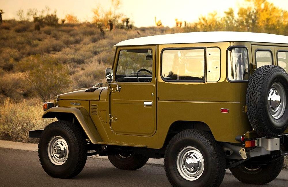 $100,000+ 1977 Toyota FJ40 Land Cruiser