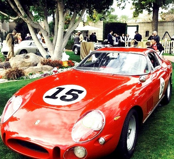 Probably my favorite thing out here at the #ArizonaConcours. 1965 #Ferrari 275 GTB/C Speciale