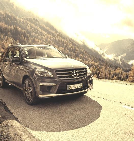 Mercedes-Benz ML 63 AMG (Instagram @gtspirit)